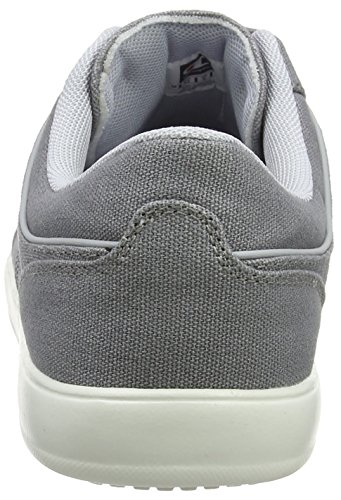 Shoe Es002 Warm Champion Deck Grau Grey Cut Herren Low Sneaker qvzPt6v