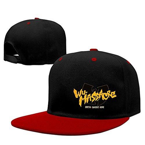 BestSeller Unisex Wu Tang Clan Hip Hop Snapback Adjustable Baseball Caps Hats Red by BestSeller
