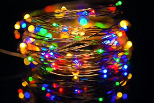 CYCTECH 10.5M String Lights -33ft 100 Led USB Connector Copper Wire Fairy Lights for Home Bedroom Kids Nursery Room Christmas Decor Wedding Party Garden (Multicolor) by CYCTECH (Image #5)