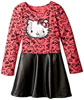 Hello Kitty Girls' HK Love Dress