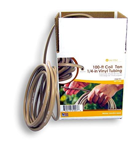 Mister Landscaper MLT-T100B Flexible Vinyl Drip Tubing, Tan