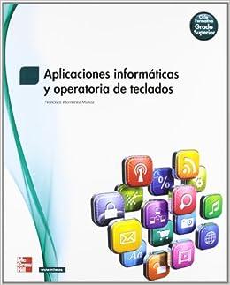 APLICACIONES INFORMATICAS Y OPERATORIA DE ...