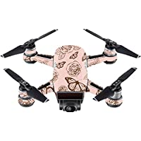 Skin For DJI Spark Mini – Butterfly Garden | MightySkins Protective, Durable, and Unique Vinyl Decal wrap cover | Easy To Apply, Remove, and Change Styles | Made in the USA