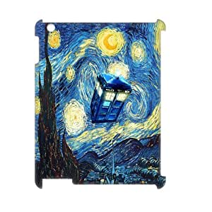 JJZU(R) Design Personalized 3D Cover Case with Doctor Who for Ipad 2,3,4 - JJZU931981