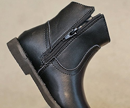 Pointss Princess Boot Dresses Jodhpur Winter Leather Boot Black Fashion Trip Winter Waterproof Boot Boots Girls Weather Slip Not Boot Ankle Cold rAxfwqrp