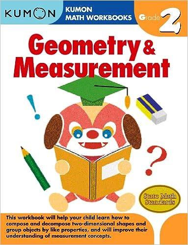 Geometry Measurement Grade 2 Kumon Math Workbooks