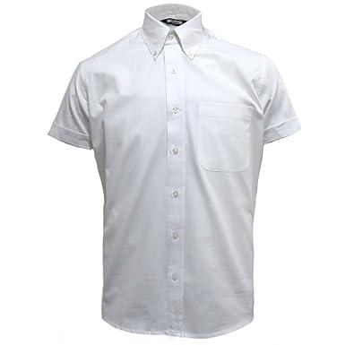 eba8abd4 Relco Mens Short Sleeve Button Down Oxford Shirt at Amazon Men's Clothing  store: