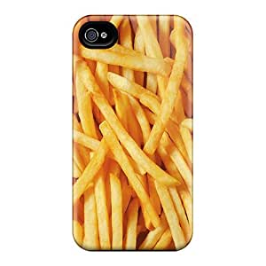 TeMvkGP5820YiYpM Fries Fashion Tpu 4/4s Case Cover For Iphone