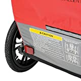 Allen Sports Hi-Viz 2-Child Bicycle Trailer, Model