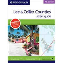 Amazon rand mcnally florida united states books rand mcnally 4th edition lee collier counties street guide sciox Image collections
