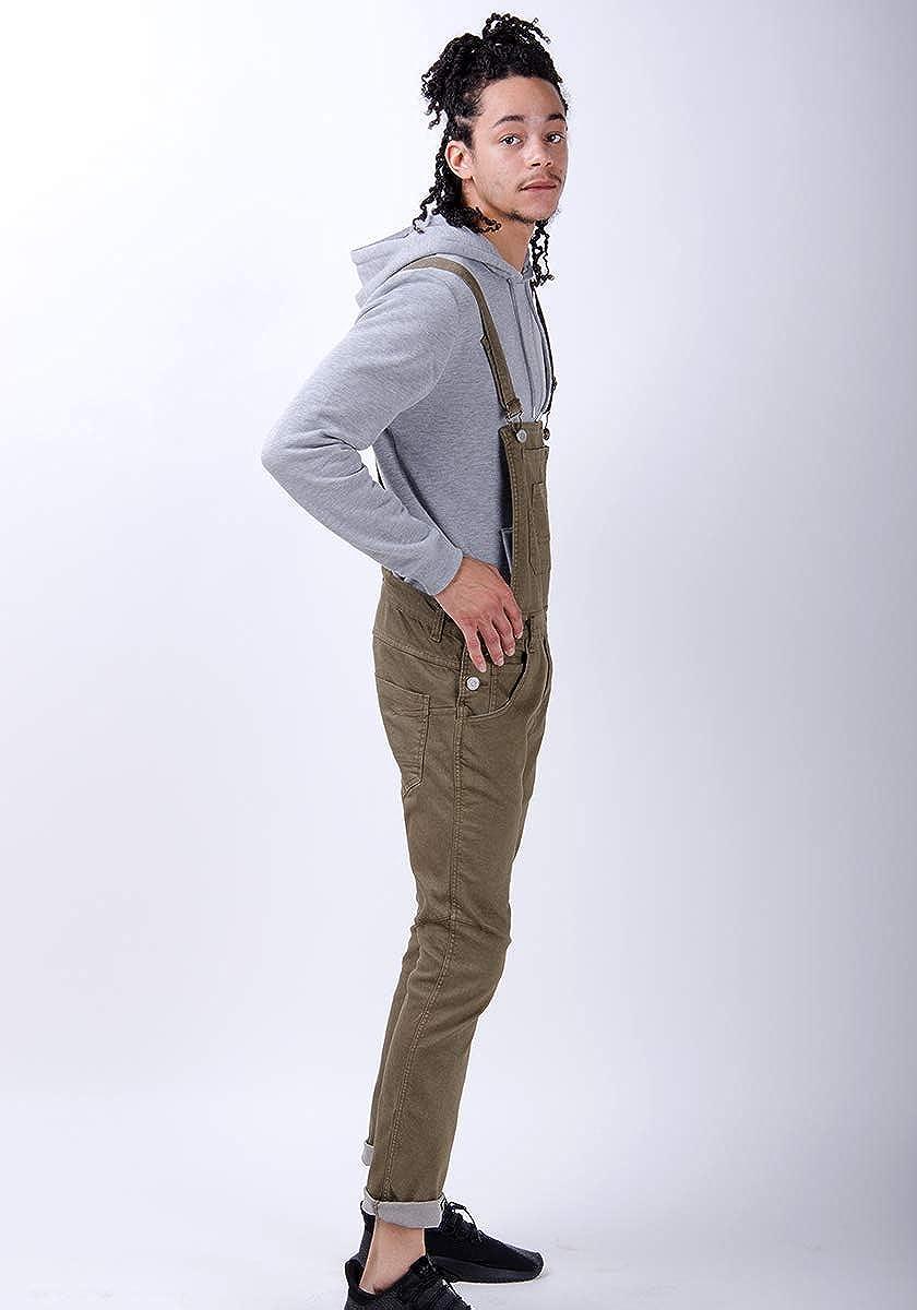 Burton Mens Skinny Fit Dungarees