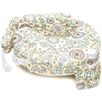 My Brest Friend Nursing Pillow, Buttercup Bliss, Yellow, Green
