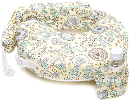 My Brest Friend Original Nursing Posture Pillow, Yellow & Green Buttercup Bliss ()