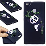99 cent free shipping - Huawei P9 Lite Case, FIREFISH Ultra-Slim Soft TPU Rubber Silicone Case Impact Resistant Durable Protective Back Cover Case for Huawei P9 Lite (2016) -Panda-B