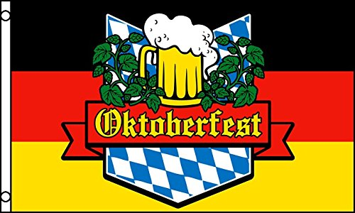 Best Flags Oktoberfest Polyester Outdoor Flag, 3 by 5-Feet