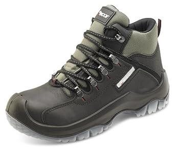 Click Traxion Boot Black - Size 6