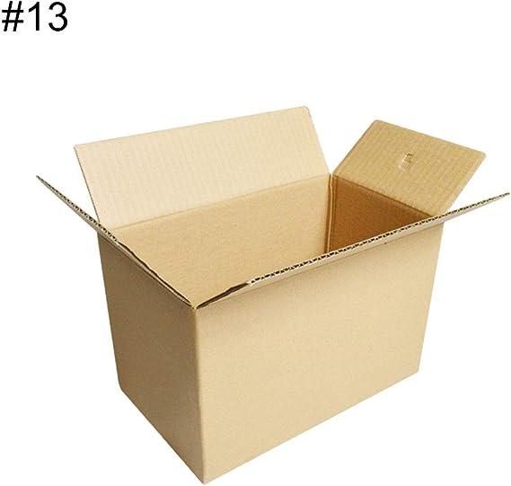 Yeshai3369 - Caja de cartón Corrugado (20 Unidades, 3 Capas, tamaño pequeño), One Color, 12: Amazon.es: Deportes y aire libre