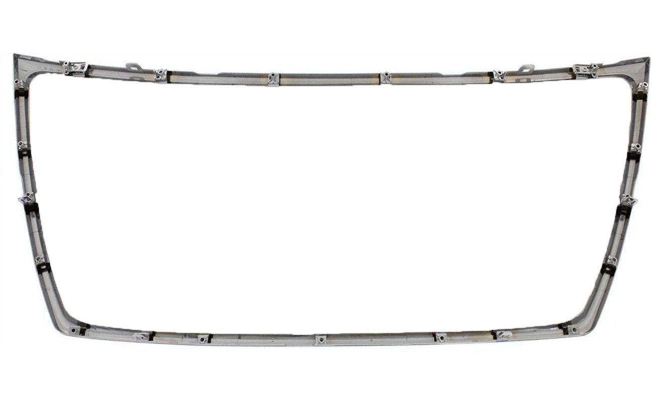 AUTOPA 6400F026 Front Chrome Bumper Grille Trim Shell Molding for Mitsubishi Outlander 10-13 2.4L