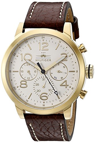 Watch Multifunction Tommy Hilfiger - Tommy Hilfiger Men's 1791231 Jake Analog Display Japanese Quartz Brown Watch