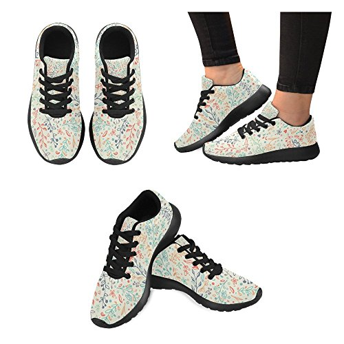 Tropic Running Lightweight Womens Athletic Walking Leaves Shoes Sports Road InterestPrint Sneakers Jogging ZvqES