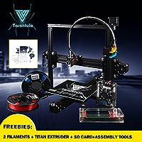 TEVO -Tarantula I3 Aluminium Extrusion 3D Printer kit printer 3d printing 2 Rolls Filament 8GB SD card LCD As Gift