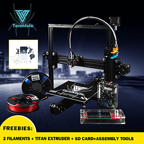 TEVO -Tarantula I3 Aluminium Extrusion 3D Printer kit printer 3d printing 2 Rolls Filament 8GB SD card LCD As Gift by MSMW