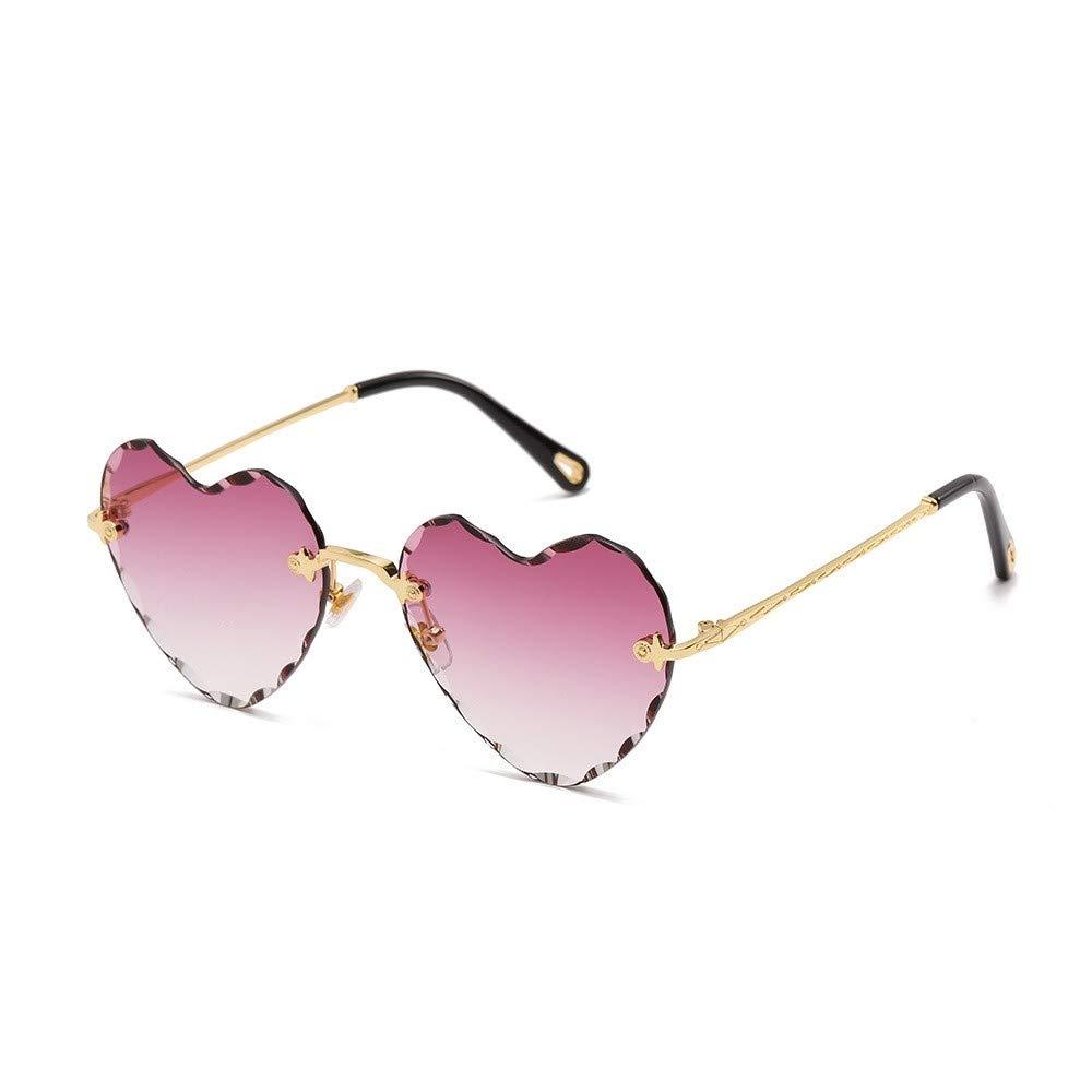 fhccy Cut-Off Sunglasses Frameless Ocean Piece New Modern Love Sunglasses New Sunglasses