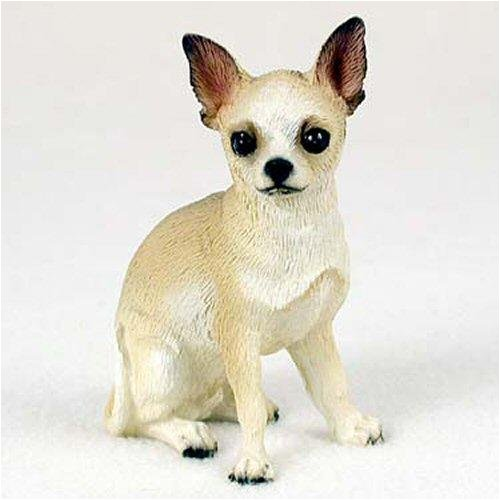 Conversation Concepts Chihuahua, Tan/White Original Dog Figurine (4in-5in)