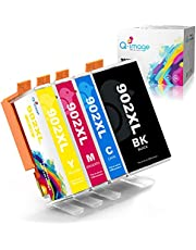 Q-image Compatible Ink Cartridge Replacement for HP 902 902XL Ink Cartridge for HP Officejet Pro 6978 6968 6954 6962 6958 6970 6975 Printer (Black, Cyan, Magenta, Yellow, 4 Pack)