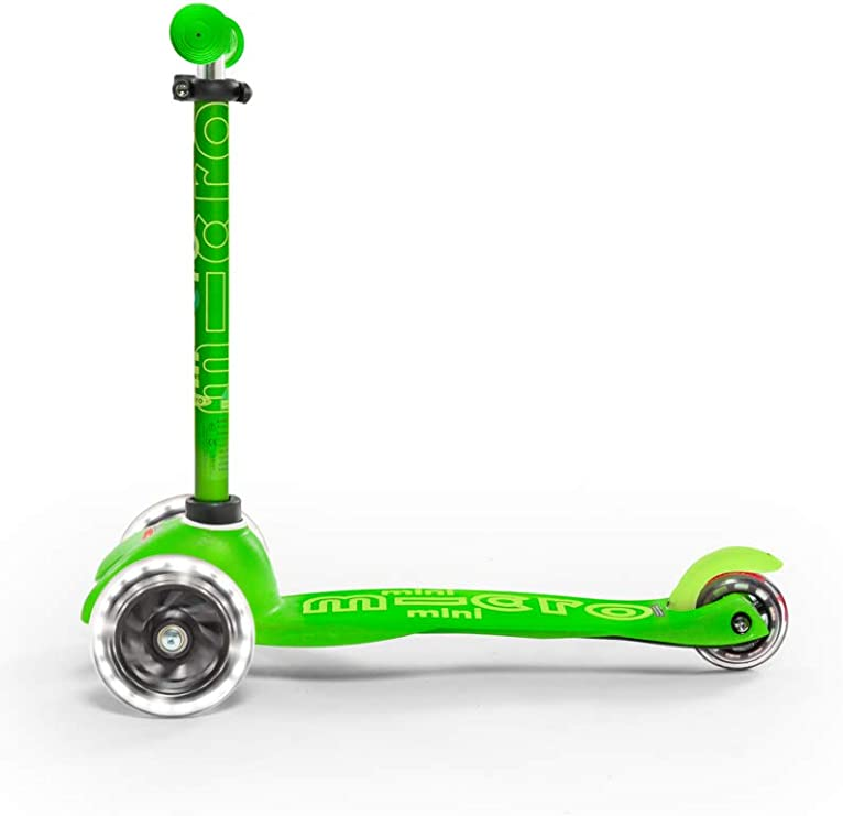 Amazon.com: Micro Mini Deluxe - LED | Patinete de 3 ruedas ...