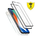 Best Coverage Screens - [3-Pack] iPhone X Front and Back Glass Screen Review