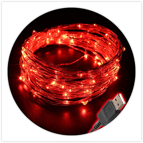 Bright Red Led Christmas Lights in US - 1