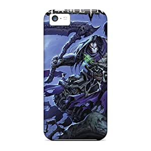 New GpH3067truE Darksiders 2 Tpu Cover Case For Iphone 5c