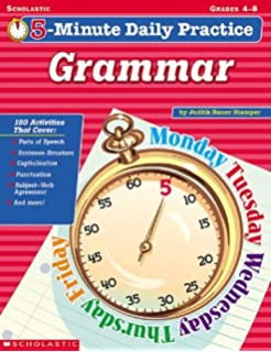 Daily Grammar & Punctuation Practice - 4th Grade - Language Arts ...