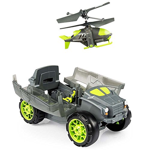 [Happinet] AIRHOGS land and air dual confidential helicopter stealth launcher (toy radio-controlled)