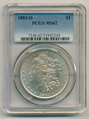 1883 O Morgan Silver Dollar MS62 PCGS
