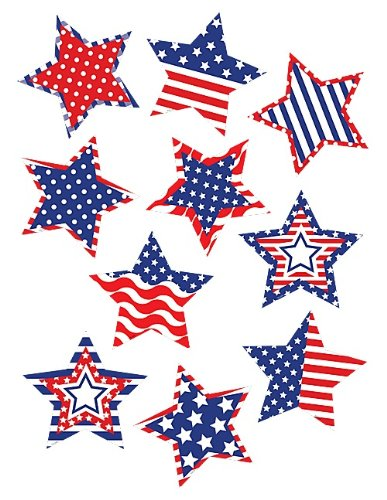 Memorial Day Bulletin Boards (Teacher Created Resources 5285 Patriotic Stars)