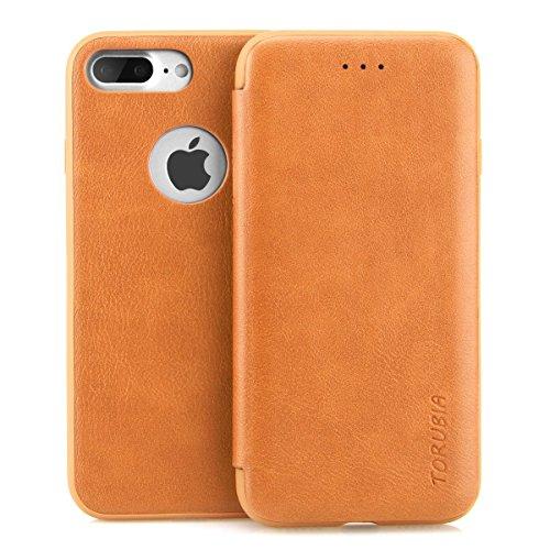 iPhone 7 / iPhone 8 Leder Hülle, Hülle Handyhülle Leder Handytasche Schutzhülle Tasche Flip Case Brieftasche Kreditkartenhaltern, Ganzkörper-Schutz Minimalistischer Stil Slim Fit Hülle für iPhone 7 /