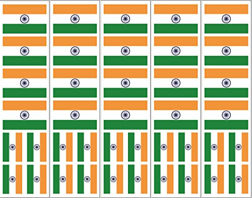 40 Tattoos: Indian Flag, India Party Favors -