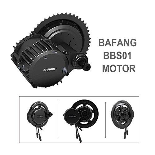 Bafang BBS01 36V 350W Mid Drive Ebike Kit,Electric Bike M...