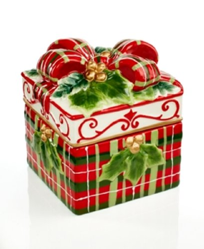 Holiday Figurals (Charter Club Holiday Figural Lidded Gift)