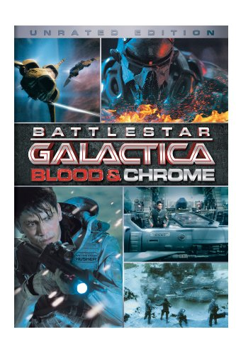 DVD : Battlestar Galactica: Blood and Chrome (Slipsleeve Packaging, Widescreen, Unrated Version, Dolby, AC-3)