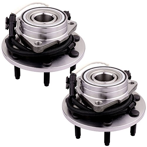 SCITOO Compatible with Rear Wheel Bearing Hub 515030 Hub Bearing Hub Assemblies 7 bolts with ABS Sensor fits 2000-2003 Ford F-150 4WD, 1997-1999 Ford F-250 4WD pack of 2