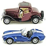 Kinsmart Combo Of Ford 1932 Coupe And Shelby Cobra Die-Cast Car (Assorted) - 5 inch