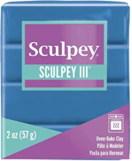 product image for Polyform Sculpey III Polymer Clay, 2-Ounce, Turquoise