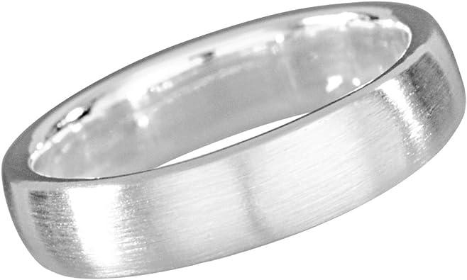 Ring aus Edelstahl klassischer schlichter Edelstahlring Unisex