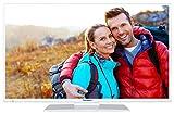 Telefunken XF43A401-W 110 cm (43 Zoll) Fernseher (Full HD, Triple Tuner, DVB-T2 H.265/HEVC, Smart TV, Netflix)