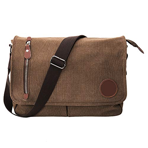 Messenger Coffee Triangle Bags Men's School body Single Canvas Retro Cross Vintage Bag Shoulder d878qxg
