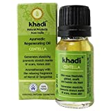 KHADI - Ayurvedic Regenerating Centella Oil - 0.35 fl.oz - For Revitalised & Toned Skin - Prevents stretchmarks