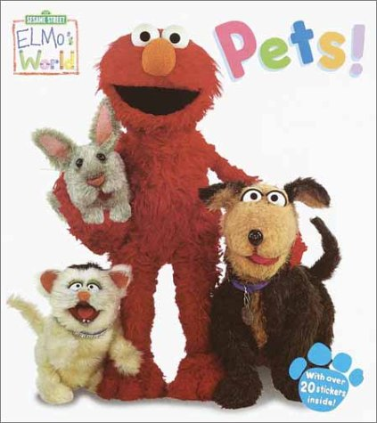 Elmo S World Pets Sesame Street Elmos World Tm Random